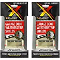 4-Pack Xcluder Garage Door Rodent Shield Kit (Stainless Steel)