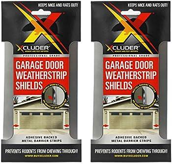 4-Pack Xcluder Garage Door Rodent Shield 2-Door Kit
