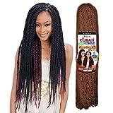 FreeTress Equal Synthetic Hair Braid - CUBAN TWIST 24' (6 PKS, 1)