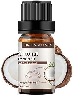GREENSLEEVES ココナッツ エッセンシャルオイル 100% ピュア精油 ナチュラル ディフューザー用 マッサージ用 アロマ テラピー 10ml