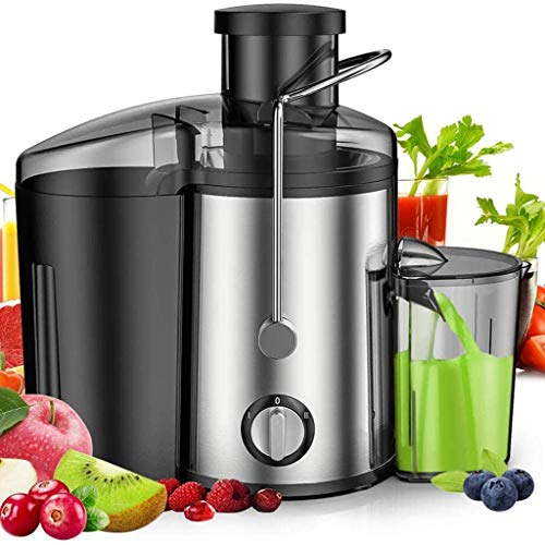 ASDF Fruit Juicer Whole Fruit and Vegetable Extractor, Powerful Dual Speed Settings Extra Wide Feeding Chute Centrifugal Juice Machine, Stainless Steel 2 Speed Modes