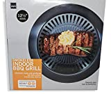 Smokeless Indoor Barbecue Grill for stove kitchen | Stainless easy to clean BBQ over stove cook top