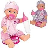 Unbekannt New Born Baby 30 cm mit Trink- und Nässfunktion • 30cm Puppe WC Funktions Puppen Näss...