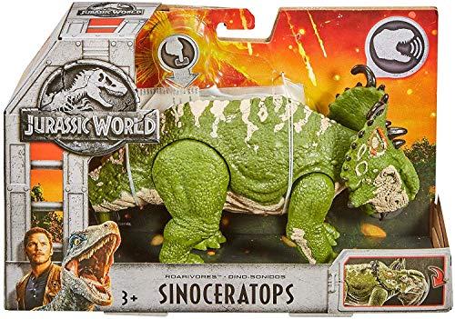 Jurassic World Action Figure Dino Rivals Roarivores Sinoceratops Jurassic Park Action Figure