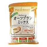 ミックス粉 パンdeスマート 低糖質オーツブランミックス 鳥越製粉 1kg