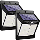 Luces Solares - 140 LED Lámpara Solar Exterior Solar Luz LED Iluminación...