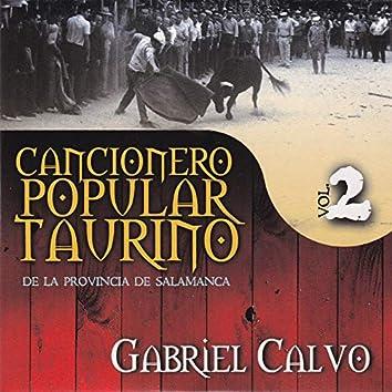 Cancionero Popular Taurino de la Provincia de Salamanca, Vol. 2