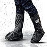 Hospaop Regenüberschuhe Fahrrad Wasserdicht Schuhe Überschuhe Mehrweg Schnee Staub Schutz