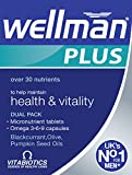 Wellman Plus Omega 3?6?9-56 Tablets/Capsules, Pack of Three