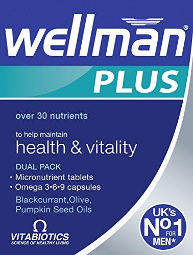 Vitabiotics Wellman Plus Omega 3∙6∙9, 56 Capsules