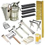Blue Ridge Bee Company Beginner Kit 12 Essential Tools for Basic Beekeeping Smoker, Hive Tool,...