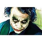 GREAT ART Fototapete – Joker – Wandbild XXL Comic
