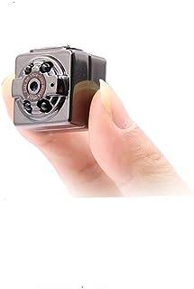SQ8超小型ミニカメラ Matchdor 防犯カメラ 高画質赤外線 隠しカメラ 超小型アクションカメラ 暗視機能 動体検知 浮気調査 スパイカメラ 監視カメラ【日本語説明書付】