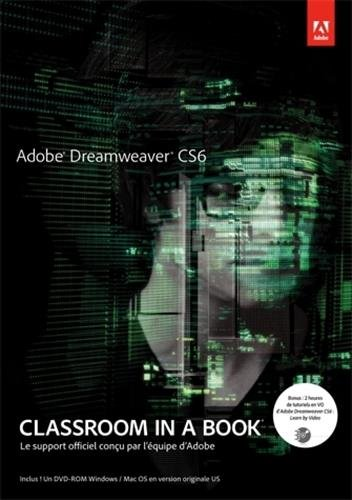 Adobe Dreamweaver CS6 + DVD-ROM (CLASSROOM IN A BOOK)