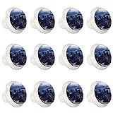 Ciudad Patternwith tornillos para gabinete de oficina en el hogar Armario de cristal Gabinete aparador Perillas12 PackWholesale