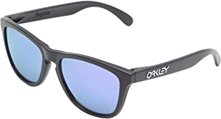 Oakley Womens Mens Frogskins Frogskins Black Size: 55 mm