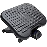 HUANUO Adjustable Under Desk Footrest - Ergonomic Foot Rest with 3...