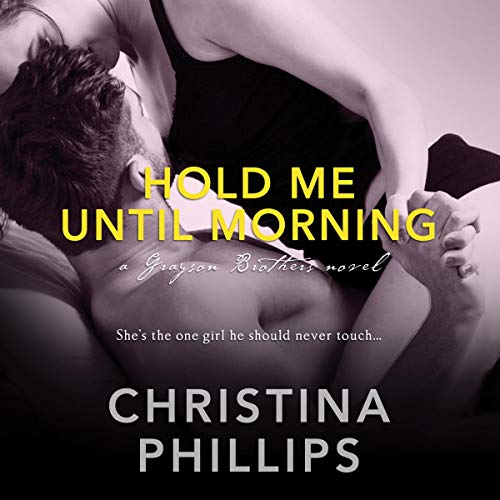Hold Me Until Morning audiobook cover art