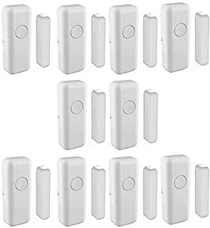 433MHz Anti-thief Wireless Door & Window Sensor for Home and Business (White Colour, Pack of 10)