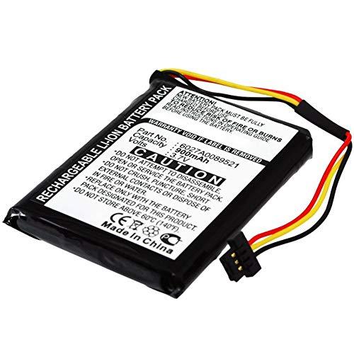 subtel® Batería de repuesto 6027A0089521 ICP553443E P11P17-11-S01 compatible con TomTom ONE IQ Routes Edition Central Europe Western Europe Regional Canada 310 900mAh Accu GPS pila sustitución battery