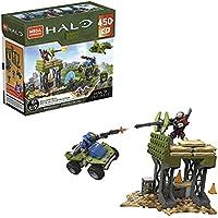 Mega Construx Halo Building Box Halo Infinite Construction Set with Spartan Gungnir Character Figure