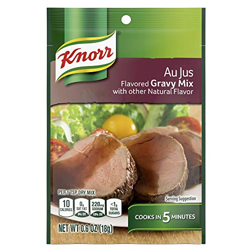 Knorr Gravy Mix, Au Jus, 0.6 Ounce (Pack of 1)