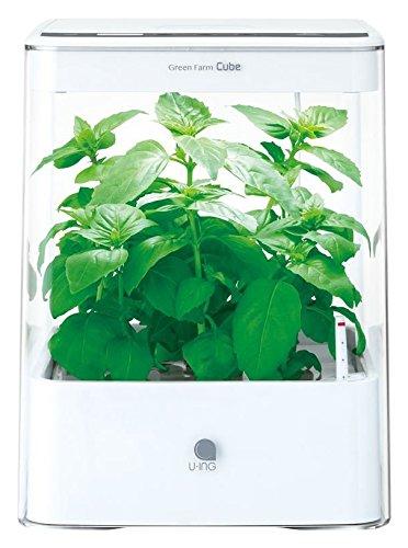 ユーイング 水耕栽培機GreenFarmCube UH-CB01G1 ホワイトの写真