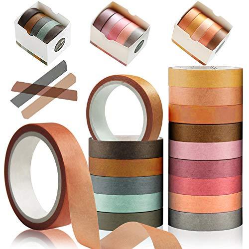 YUBX Flaco Washi Tape Set Masking Tape cinta adhesiva decorativa
