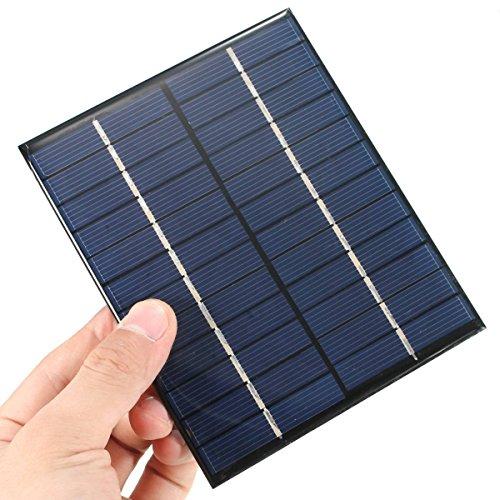 CAMTOA 2W 12V 520mA pannello solare piccolo modulo cellula PV per Kit di bricolage solari caricatore
