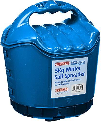 Bosmere Products Ltd W105 5 kg Capacité en plastique à sel – vert