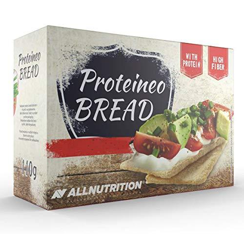 Proteineo High Protein Crisp Bread - Low Carb, High Fibre Crispbread - Multipack 110 g (Pack of 3) – Atkins Compatible Crispbread Box