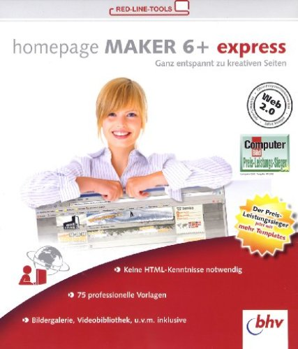 Homepage Maker 6 + express