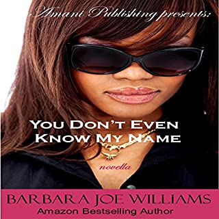 You Don't Even Know My Name audiobook cover art