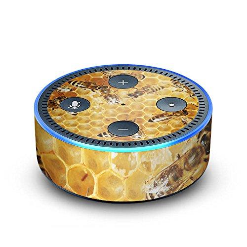 DeinDesign Amazon Echo Dot 2.Generation Folie Skin Sticker aus Vinyl-Folie Bienen Biene Insekten