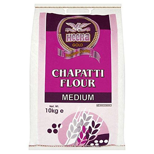 Heera Gold Chapatti Flour Medium 10 kg Weizenmehl