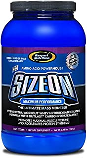 Gaspari Nutrition - SizeOn - The Ultimate Hybrid Intra-Workout Amino Acid & Creatine Formula, Increased Muscle Volume & Mu...