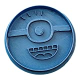 Cuticuter Minion Taglierina per Biscotti Blu, 8 x 7 x 1,5 cm