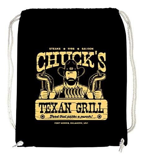 Certified Freak Chuck´s Grill Gymsack Black