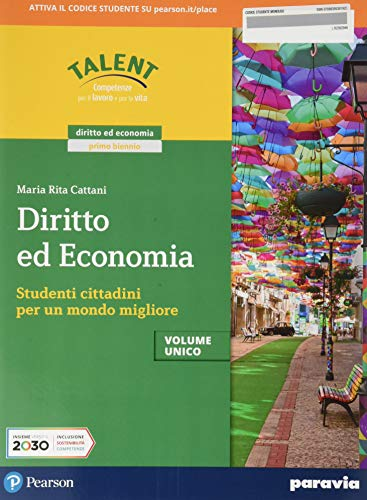 Diritto ed economia. Vol. unico. Per le Scuole superiori. Con e-book. Con espansione online