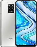 Xiaomi Redmi Note 9 Pro Smartphone - 6.67' DotDisplay, 6 GB + 128 GB, 64 MP AI Quad Camera, 5020mAh (typ) NFC, Bianco (Polar White)