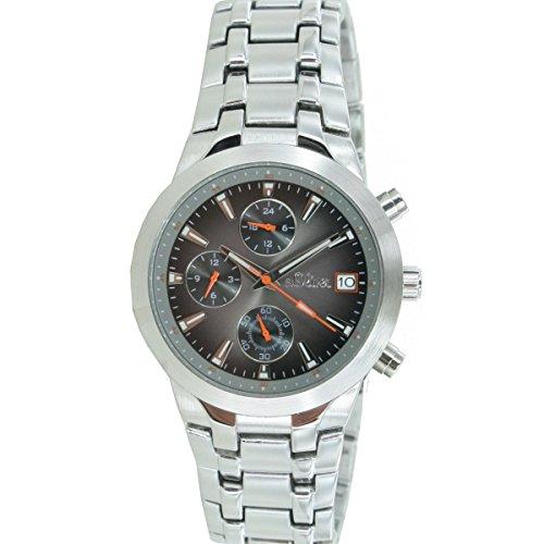 s.Oliver Herren-Armbanduhr Analog Quarz Chronograph SO-15056-MCR