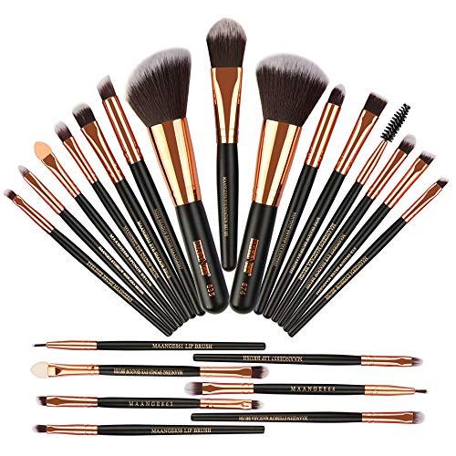 MAANGE MakeUp Pinsel Set 22 Stück Pinselset Hochwertiger Augenpinsel Pinselset Kosmetik...