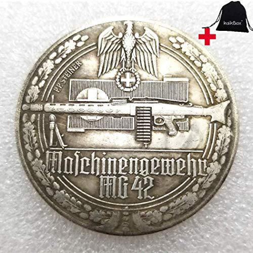 FKaiYin 1939–1945 alte historische deutsche Münzen, deutsche Münzen, unzirkulierte Gedenkmünze, Lehrwerkzeug für Kinder, handgefertigtes Kunsthandwerk, zukünftige Erfahrung