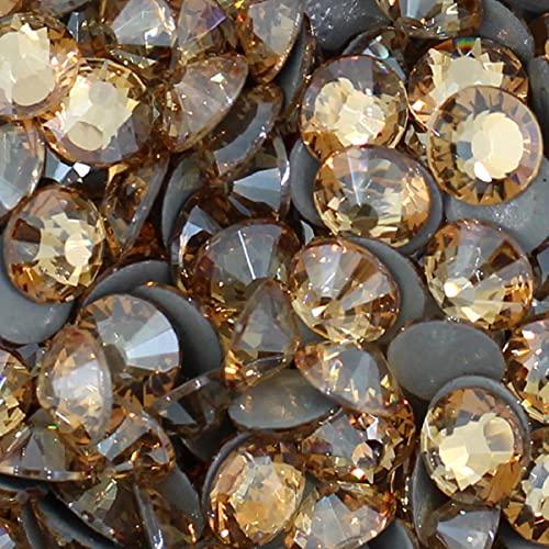 Diamantes de imitación de alta calidad, diamantes de imitación para ropa, gemas de espalda plana, planchar en caliente, brillo, piedra, arte de uñas