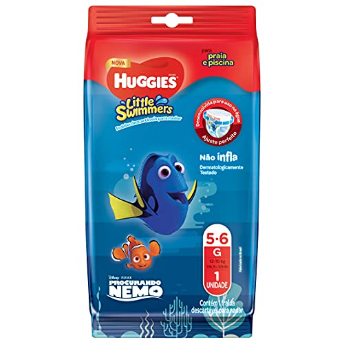 Fralda Little Swimmers G, Huggies, G