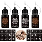 Best Henna Tattoo Kits - Kevinart Temporary Tattoo Kit, Semi Permanent Tattoo Jagua Review