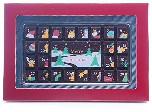 Weibler - Adventskalender Zartbitterschokolade - 70g
