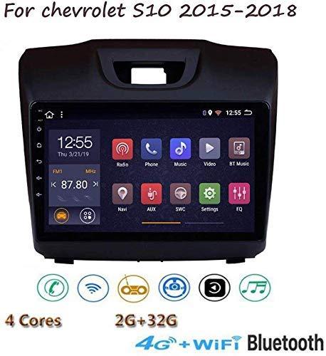 Radio De Navegación De Música Gps Android 8.1 Estéreo, Para Chevrolet S10 2015-2018, Reproductor Multimedia Con Pantalla Táctil Hd De 9