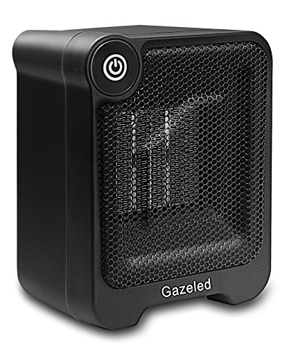 Review Of Gazeled Ceramic Portable Electric Heater, Mini Space Heater with Overheating & Tip-Over Pr...
