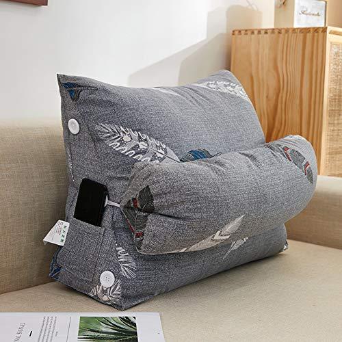 QMMYA Triangle Wedge Cushion Bedroom Bedside Soft Bag Tatami With Headrest Large Backrest Living Room Sofa Waist Pillow Back Cushion